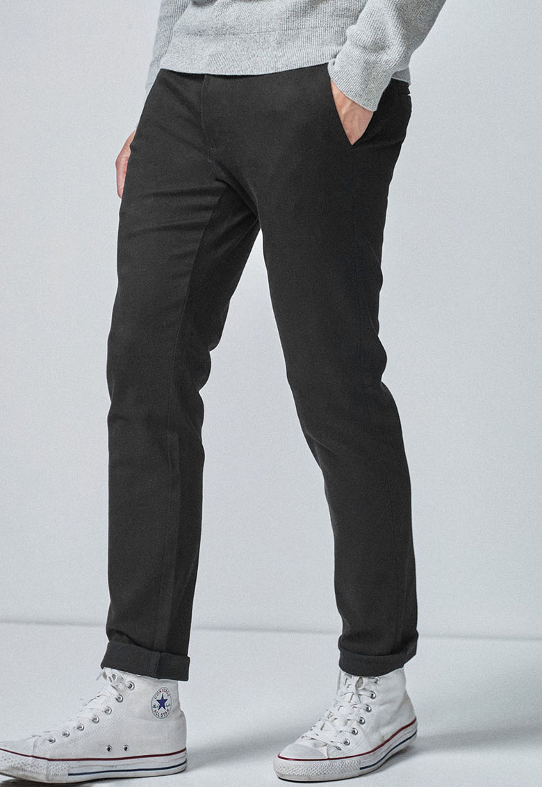 NEXT Pantaloni chino slim fit elastici