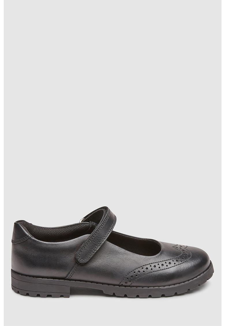 NEXT Pantofi Mary Jane de piele
