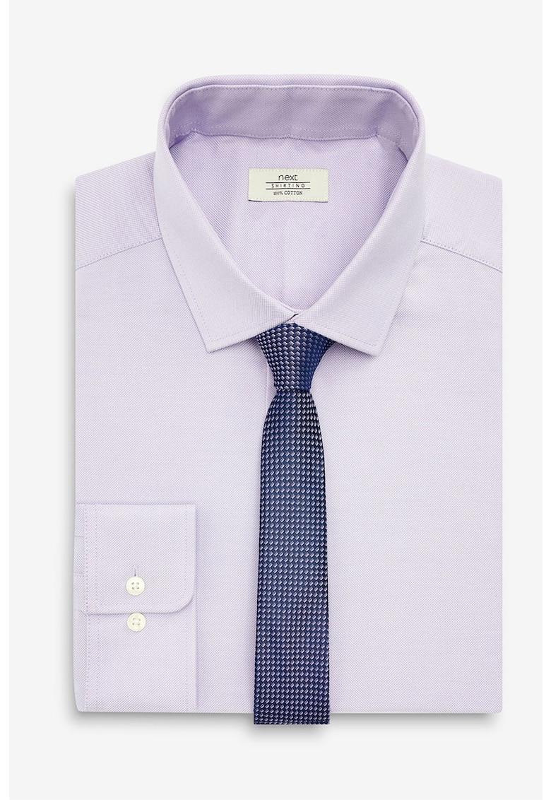 Set de camasa slim fit si cravata NEXT