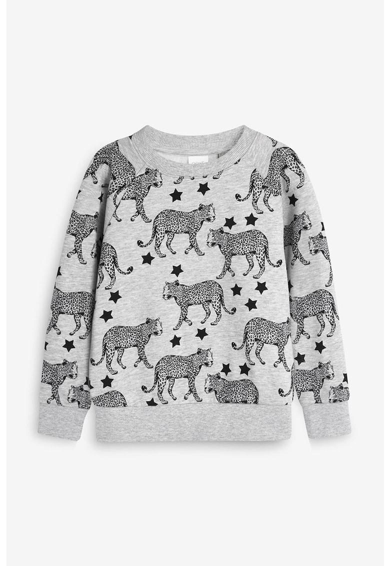 Bluza sport cu imprimeu cu stele si animale de la NEXT