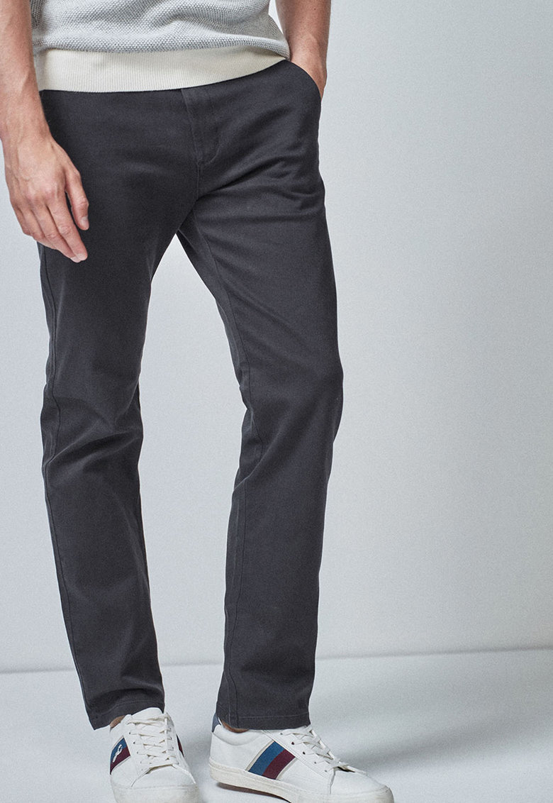 Pantaloni chino cu croiala dreapta de la NEXT