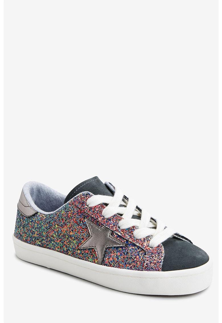 Pantofi sport cu insertii stralucitoare imagine fashiondays.ro