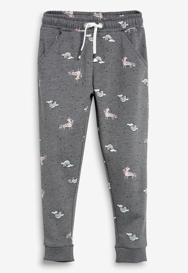 Pantaloni jogger cu model cu unicorni NEXT