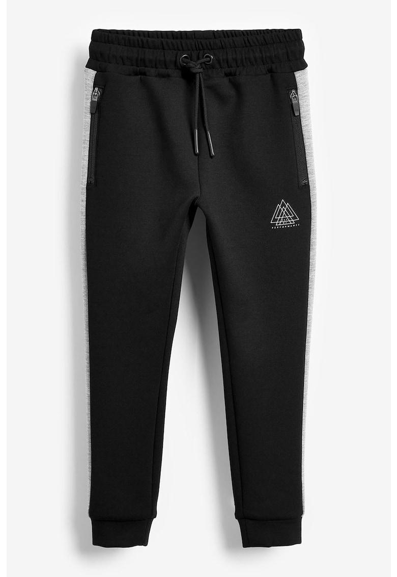 Pantaloni sport conici cu snur NEXT