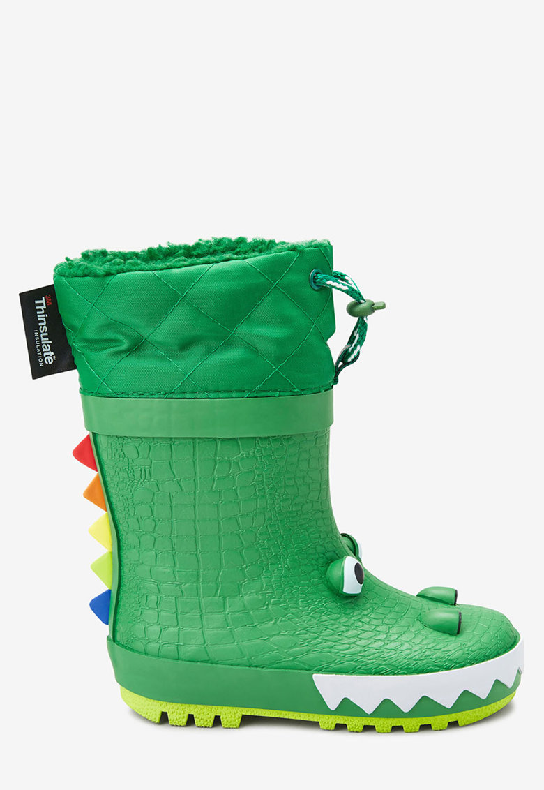 NEXT Cizme de ploaie - cu model crocodil si tehnologie Thinsulate®
