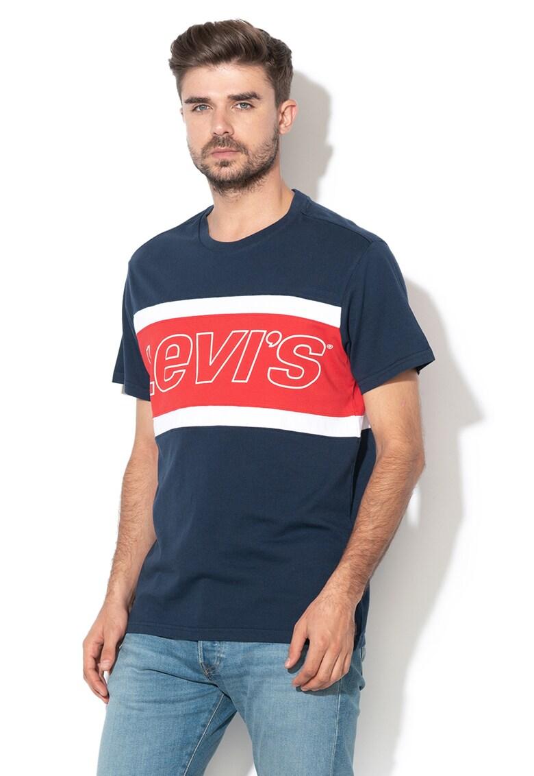 Tricou cu imprimeu logo Levis