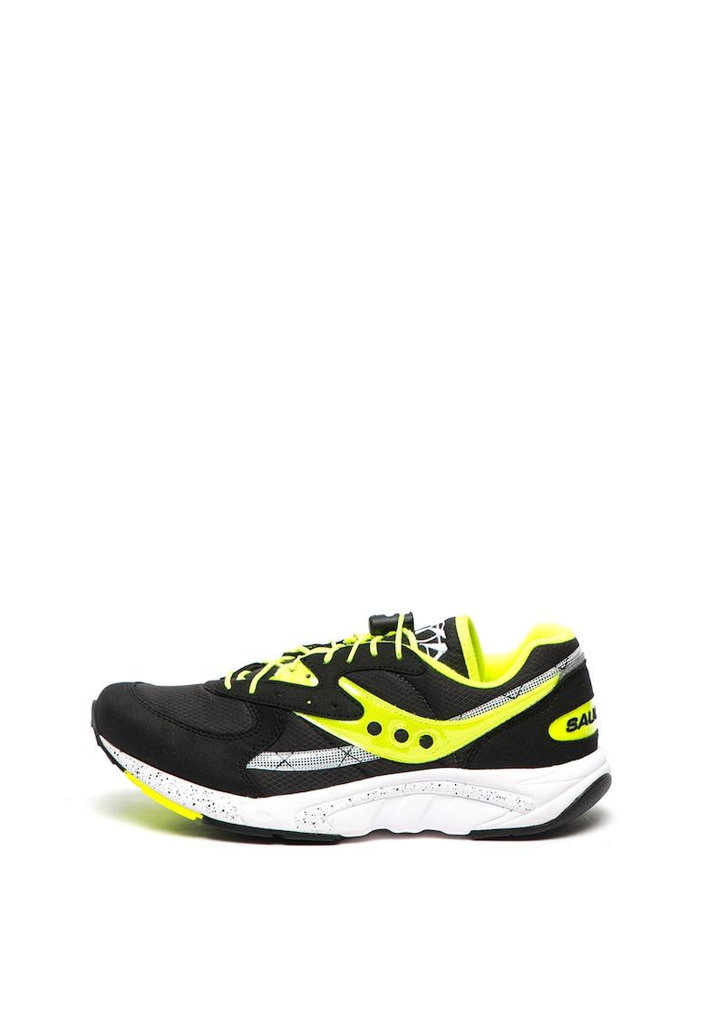 Pantofi sport cu insertii de piele intoarsa sintetica Aya