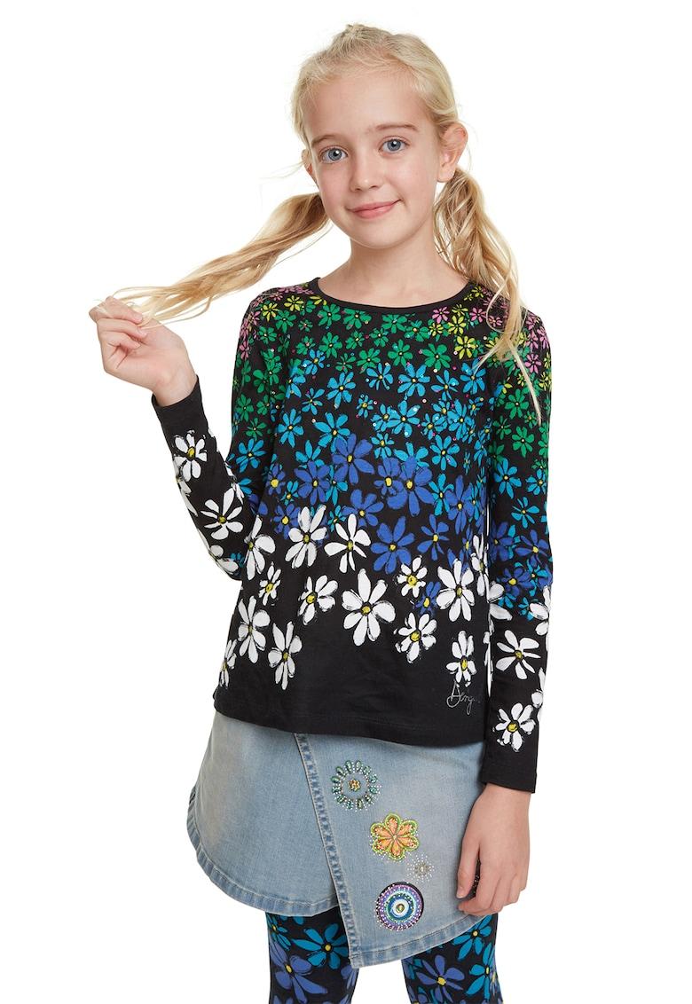 Bluza cu imprimeu floral DESIGUAL