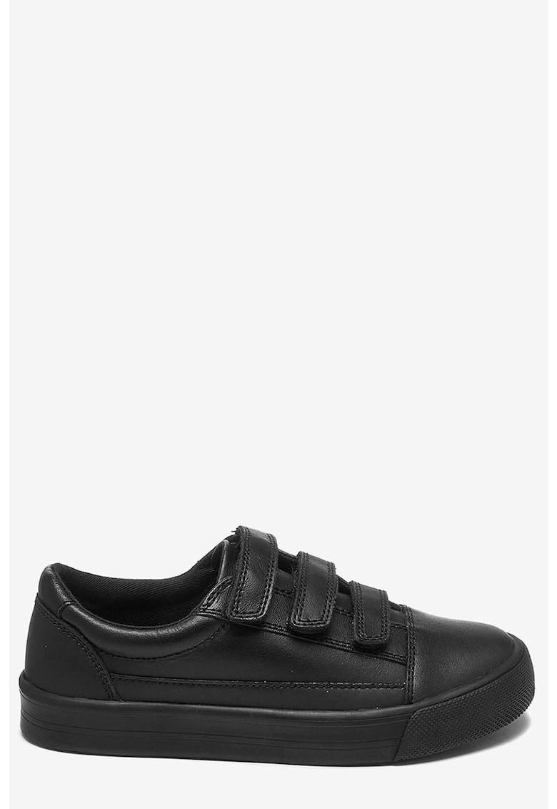 Pantofi sport de piele cu bretele velcro NEXT