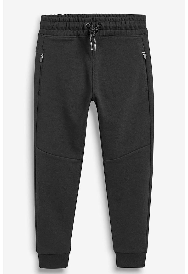 Pantaloni jogger cu buzunare cu fermoar de la NEXT