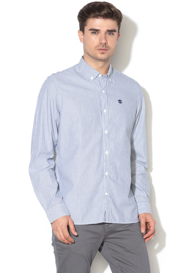 Tricou slim fit in dungi Timberland