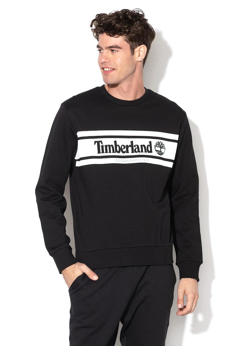 Bluza sport cu imprimeu logo Timberland