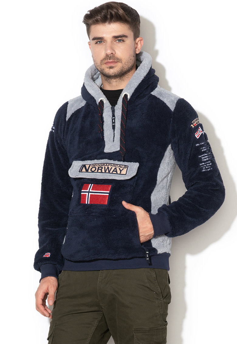 Geographical Norway Hanorac cu buzunar frontal Gymclass
