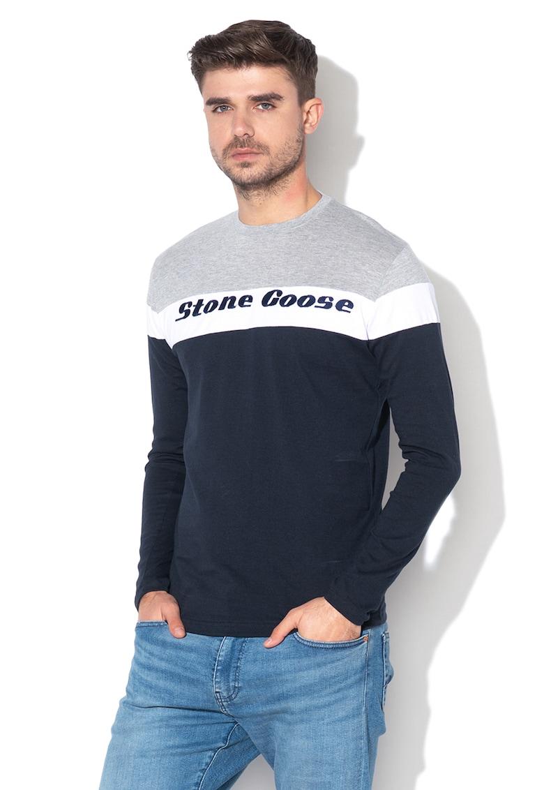 Bluza cu broderie logo Jurasid imagine