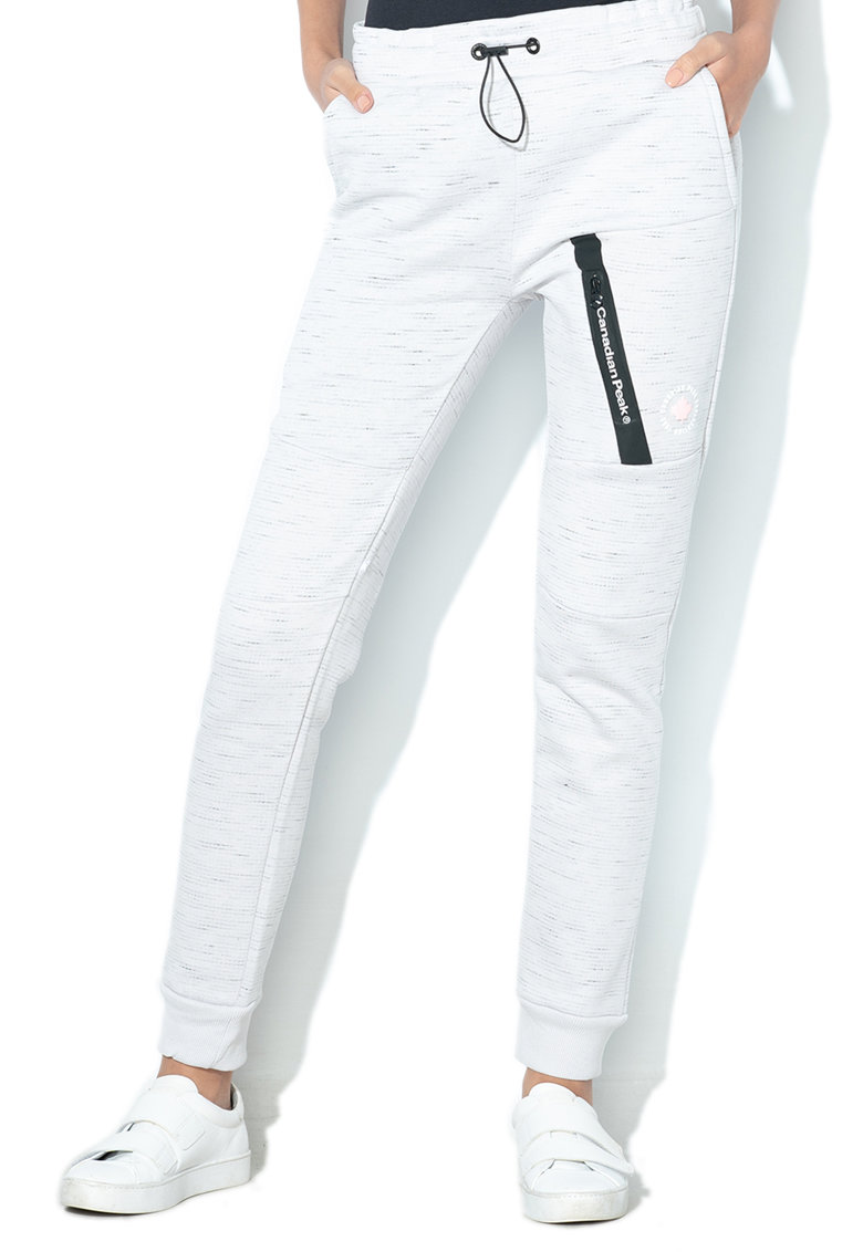 Pantaloni sport cu croiala conica Morteak imagine fashiondays.ro