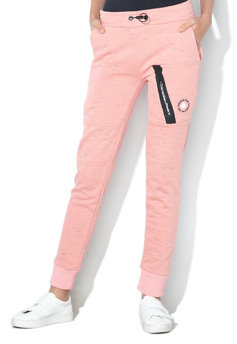 Pantaloni sport cu croiala conica Morteak fashiondays.ro
