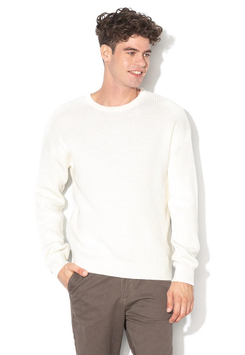 Pulover din tricot cu garnituri striate Spencer