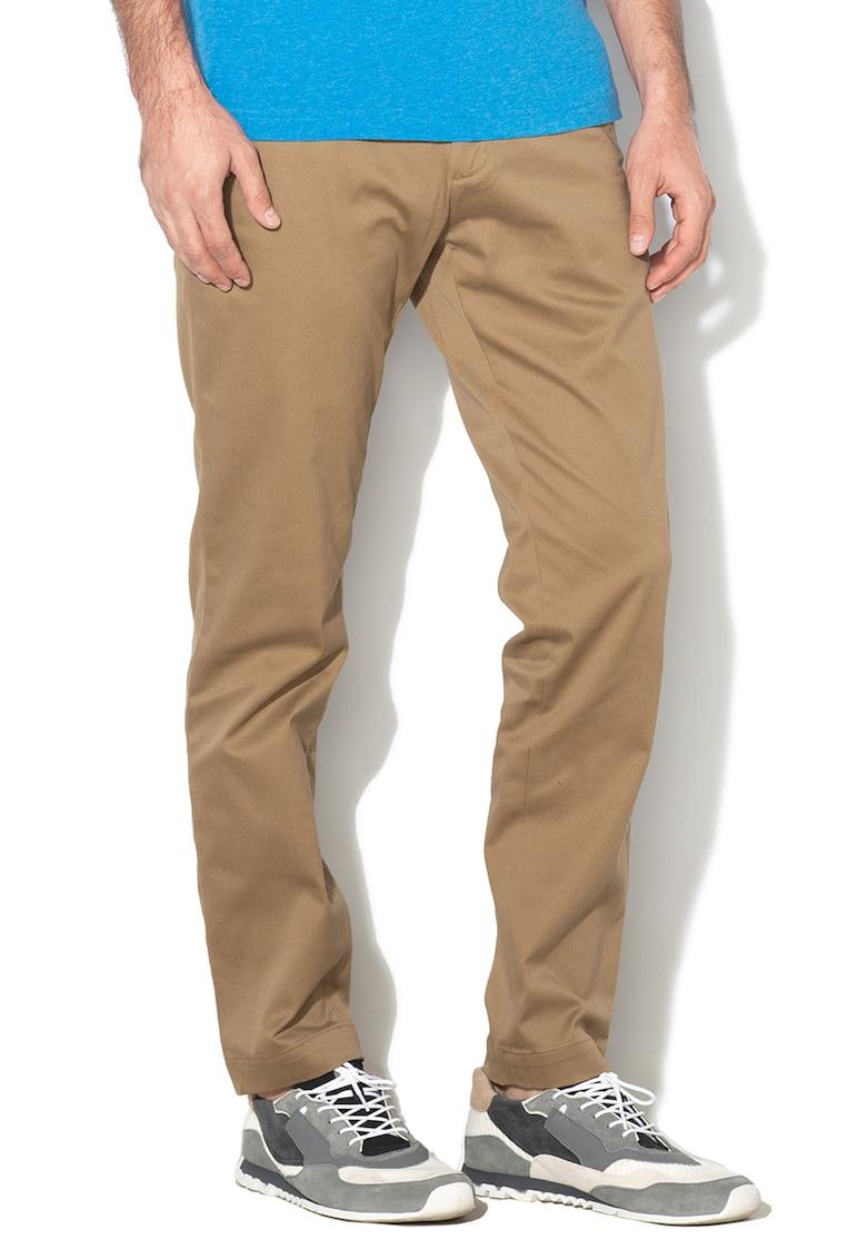 Pantaloni conici athletic fit Mason imagine fashiondays.ro