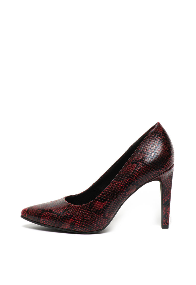 Pantofi de piele ecologica – cu varf ascutit de la Marco Tozzi