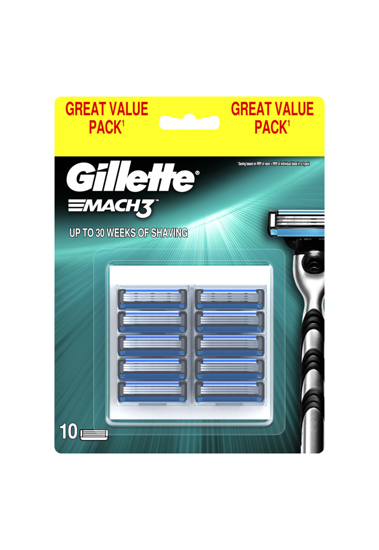 Gillette Rezerve  Mach3 Regular