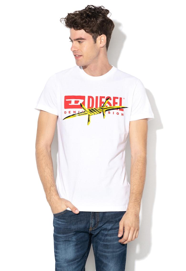 Tricou cu imprimeu logo Diego 4 imagine