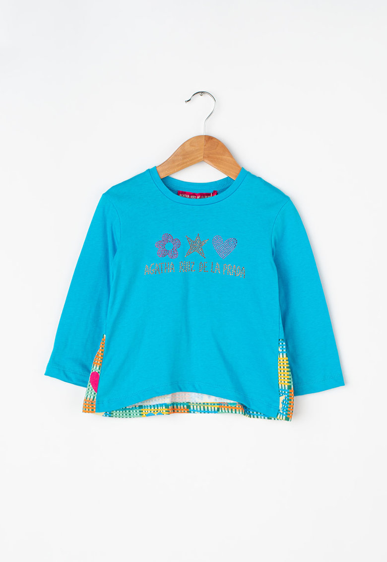 Bluza cu logo din paiete Checkers Agatha Ruiz de la Prada