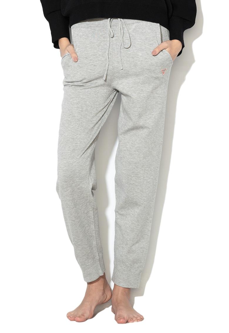 Pantaloni sport de casa - cu snur in talie imagine