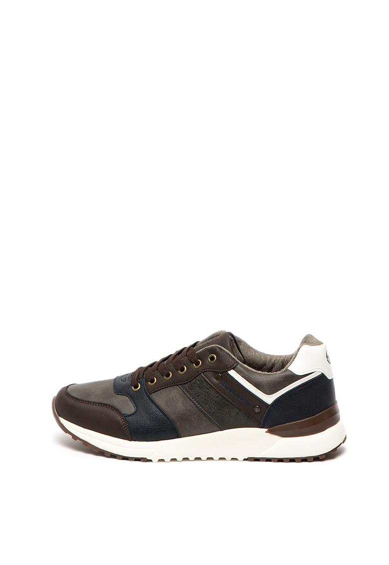 Pantofi sport de piele ecologica Race
