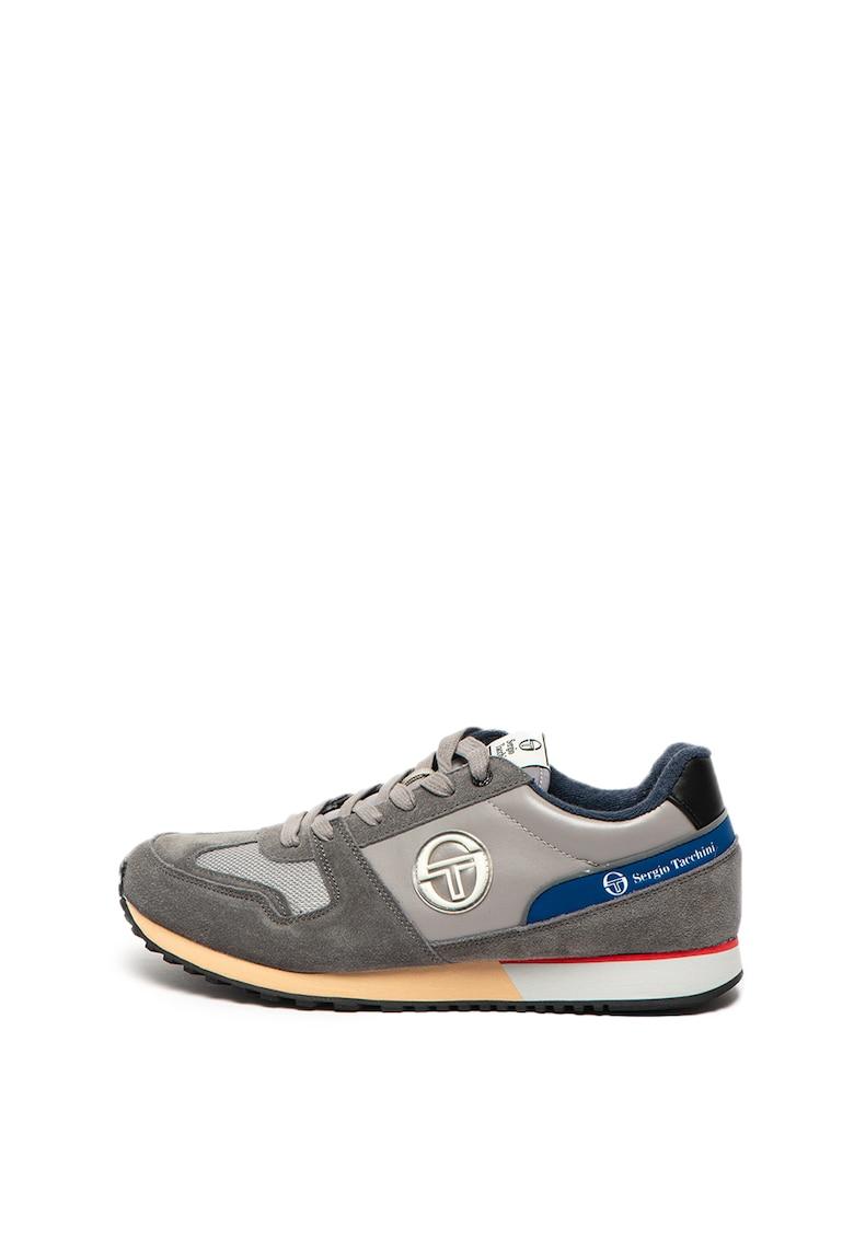 Pantofi sport cu insertii de piele intoarsa Les Club