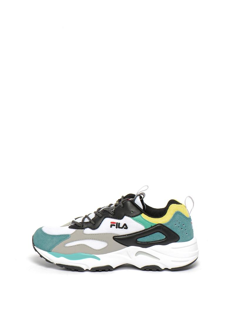 Pantofi sport cu garnituri de piele ecologica si plasa Ray Tracer