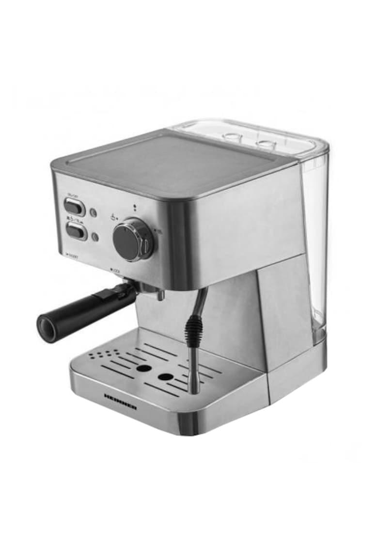 Espressor - 20 bar - 1050 W - 1.5 L - filtru dublu din inox - plita calda - Inox