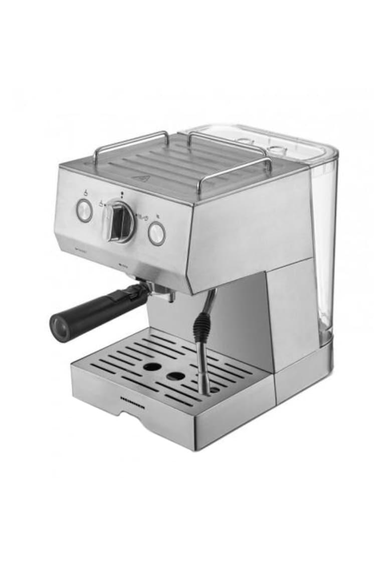 Espressor - 20 bar - 1140 W - 1.5 L - filtru dublu din inox - plita calda - Inox