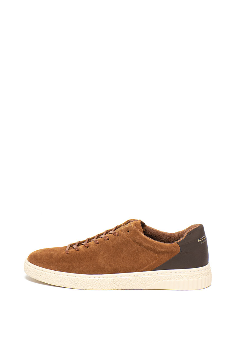 Pantofi sport cu insertii de piele intoarsa Brilliant