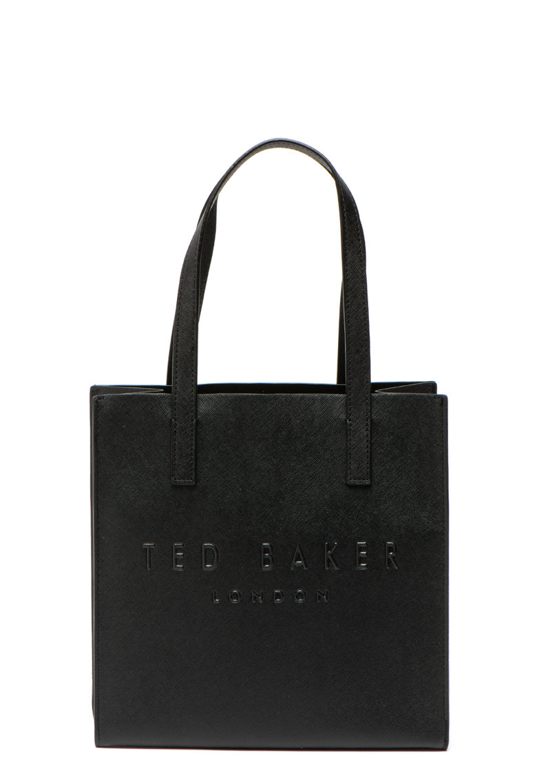 Ted Baker Geanta tote mica cu logo stantat Seacon