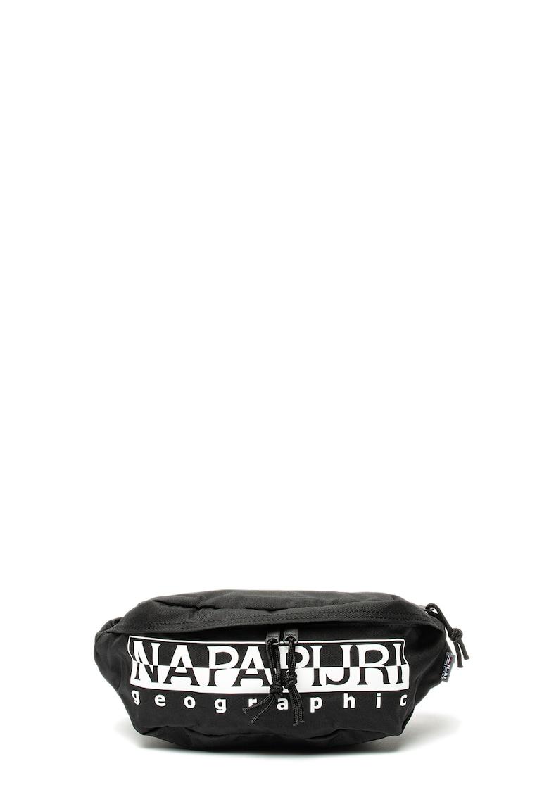 Borseta unisex cu imprimeu logo Happy Napapijri