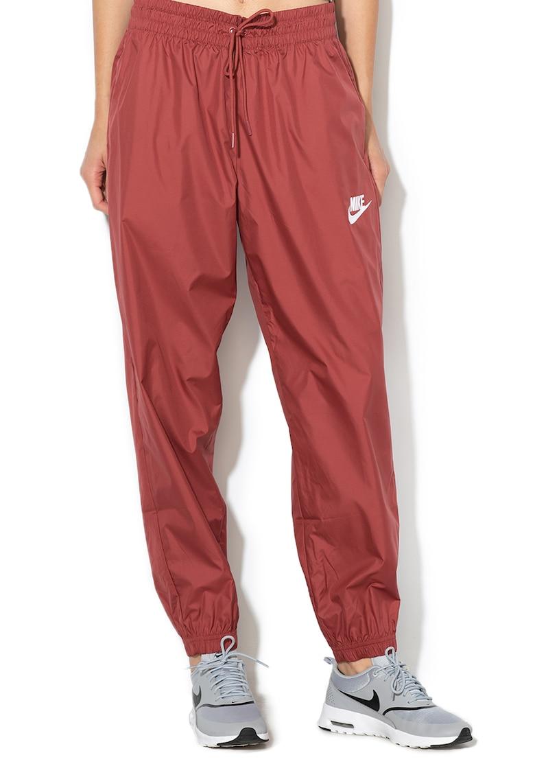 Pantaloni conici cu terminatii elastice