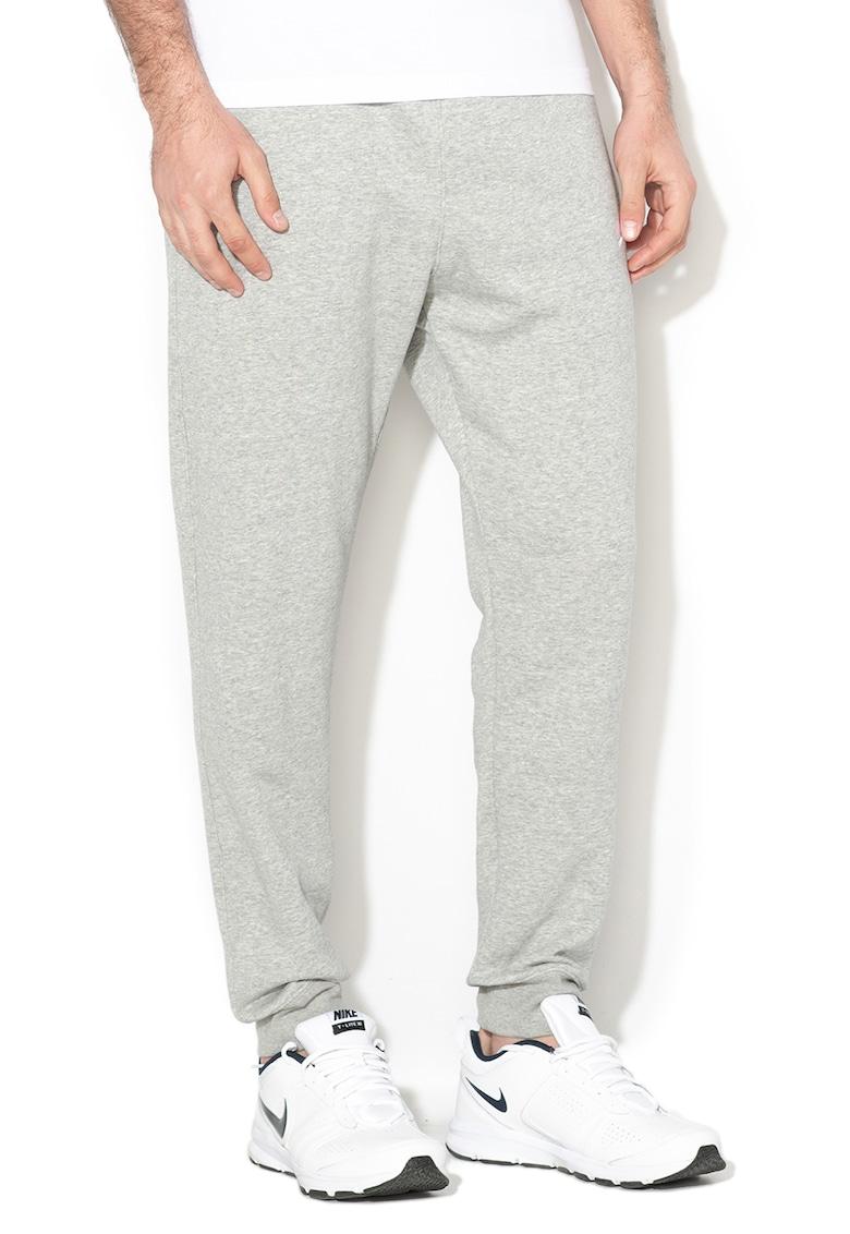 Pantaloni sport cu captuseala din material fleece Nike