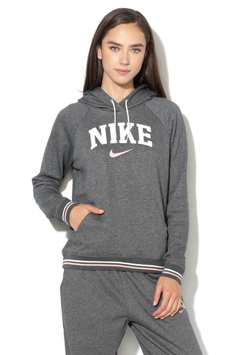 Hanorac cu imprimeu logo de la Nike