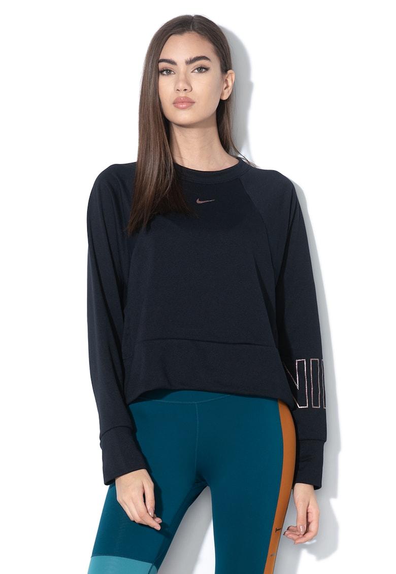 Bluza crop lejera realizata cu Dri-Fit - pentru fitness imagine