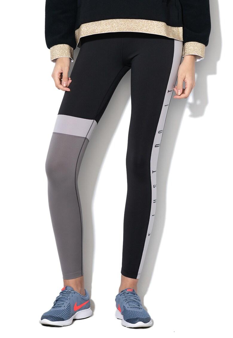 Nike Colanti cu model colorblock, pentru fitness One Dri-Fit