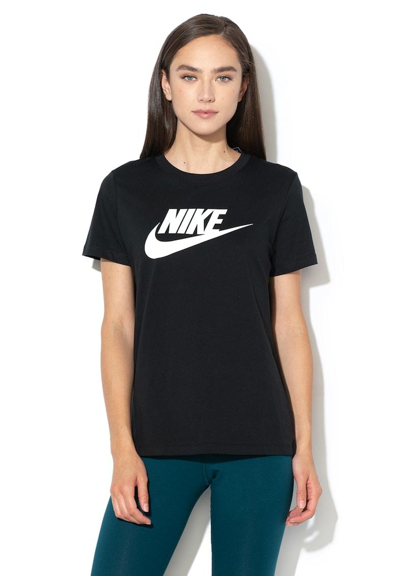 Tricou cu imprimeu logo Sportswear Essential imagine fashiondays.ro