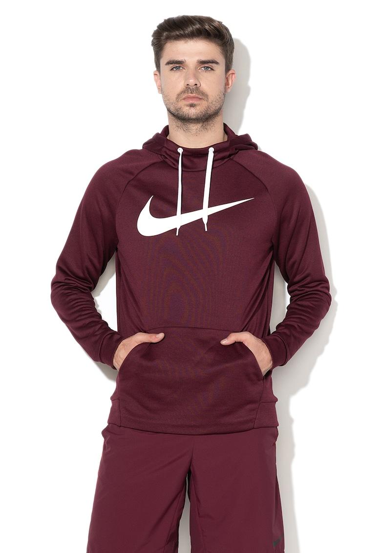 Hanorac cu buzunar kangaroo pentru fitness Dri Fit Nike