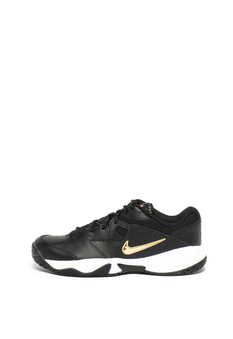 Pantofi sport cu garnituri din piele - pentru tenis Court Lite 2