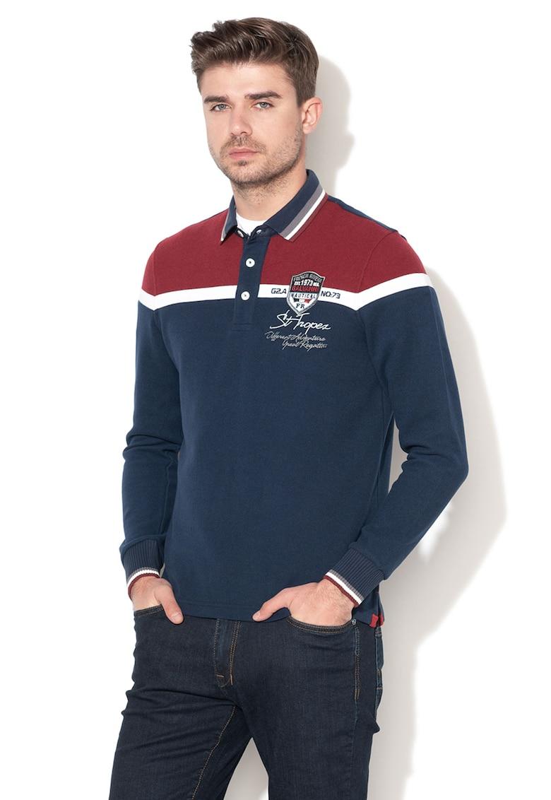 Bluza din tricot fin - cu guler ascutit Harau