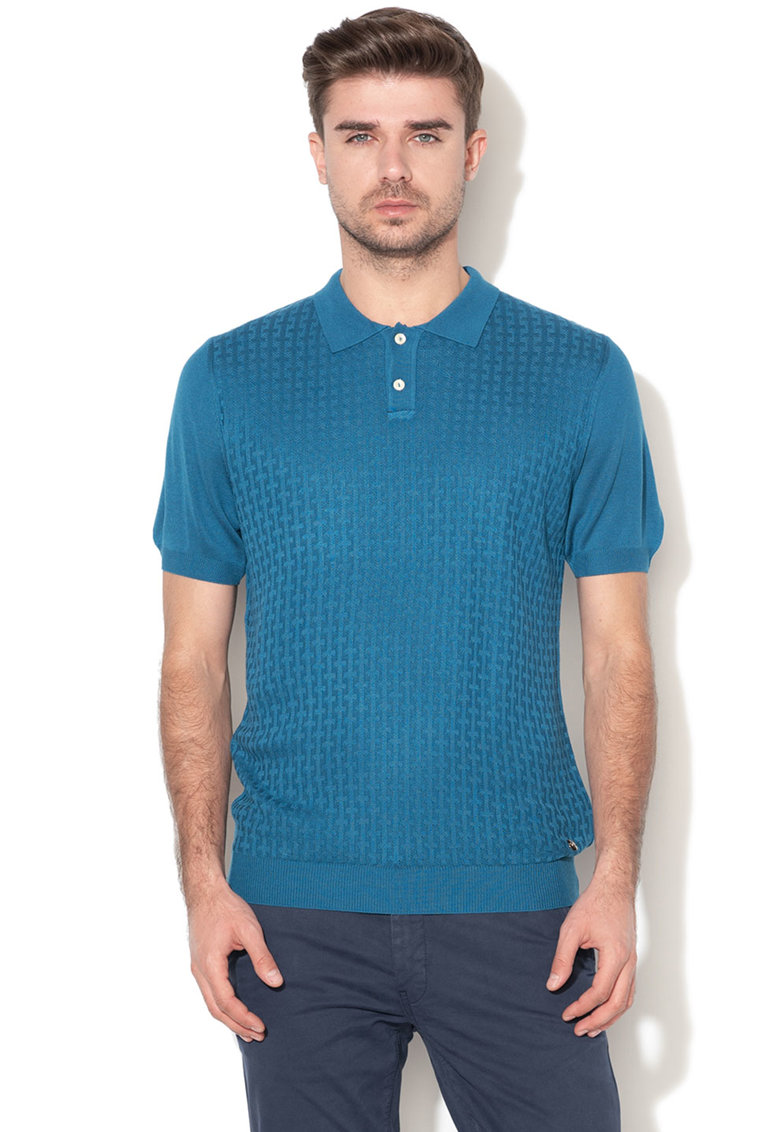 Tricou polo din tricot Exeter