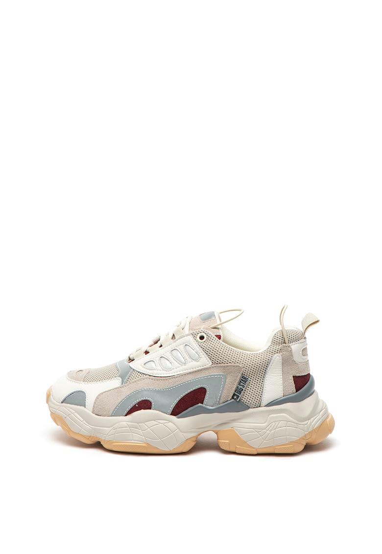 Pantofi sport cu detalii reflectorizante