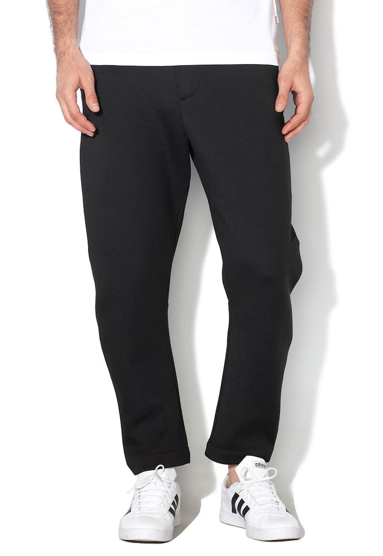 Pantaloni din jerseu cu snur interior Madir imagine fashiondays.ro