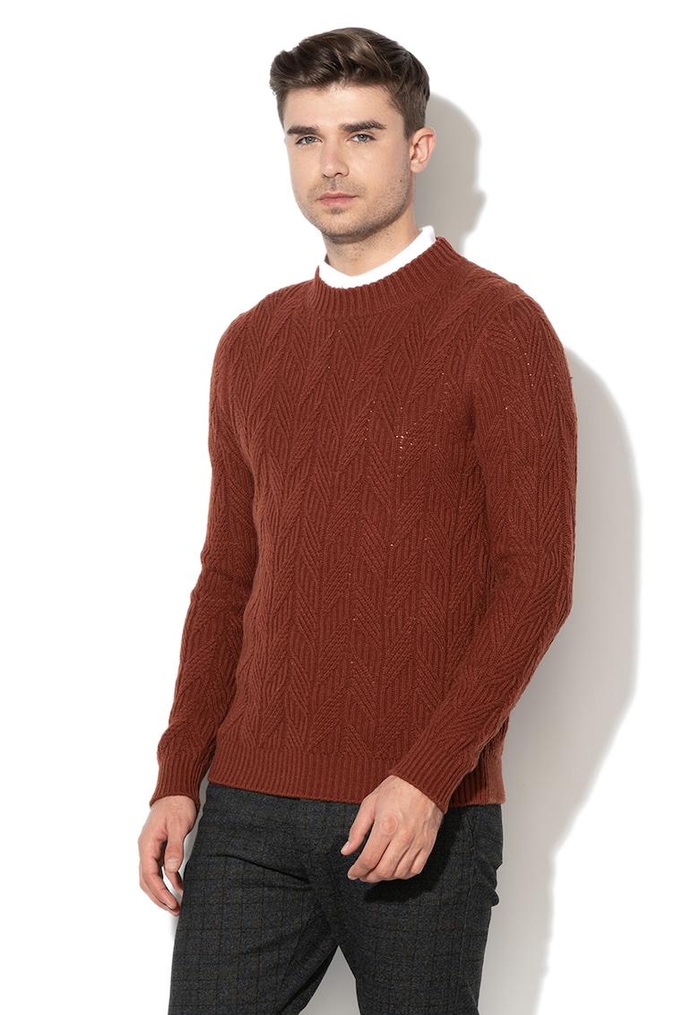 Pulover tricotat din amestec de lana Chuck