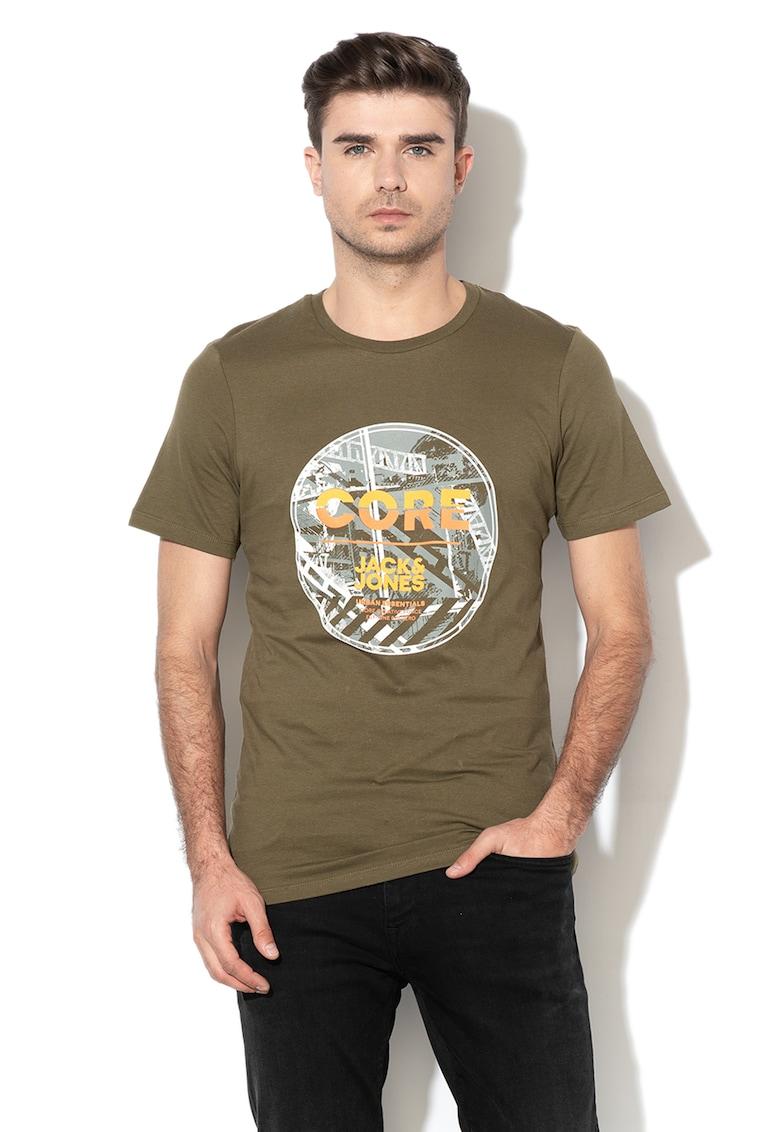Tricou slim fit cu imprimeu logo Pix de la JackJones