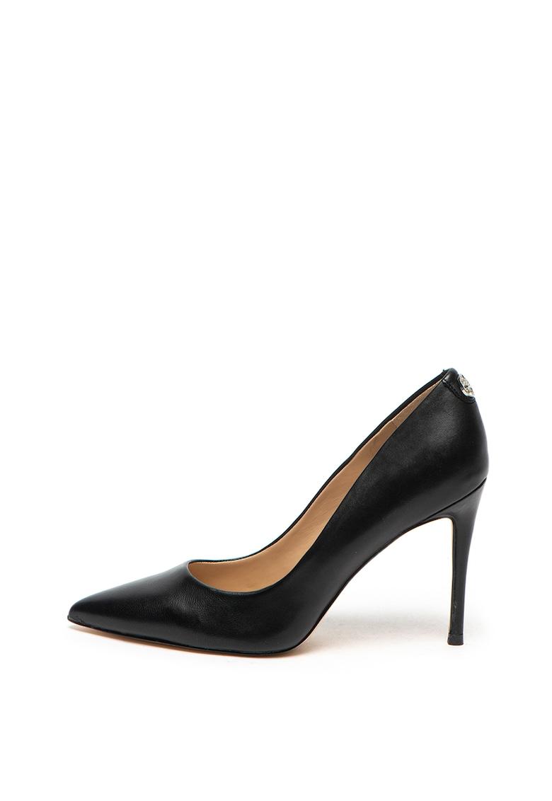 Pantofi din piele – cu varf ascutit Guess